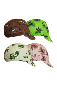 LAP CFA-6-Panel OSFA Welding Caps-Assorted Patterns