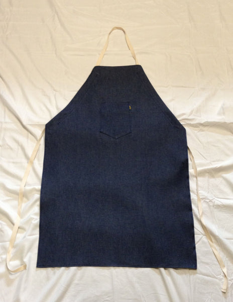 "LAP-BDA42 - 42"" Blue Denim Apron"