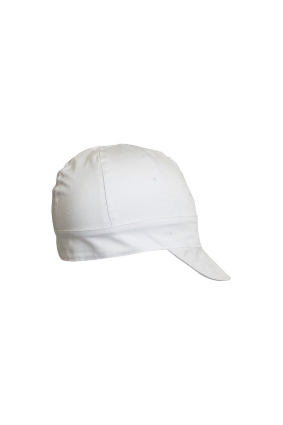 LAP-6CW - 6-Panel Welding Caps-Solid White