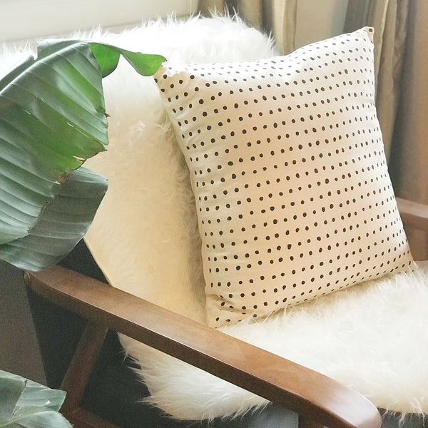 Polkadot Organic Pillow
