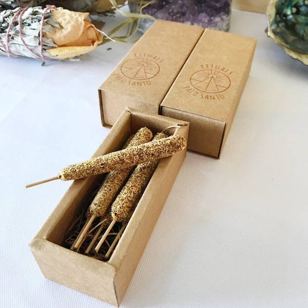 Palo Santo Incense Sticks - 6 pack