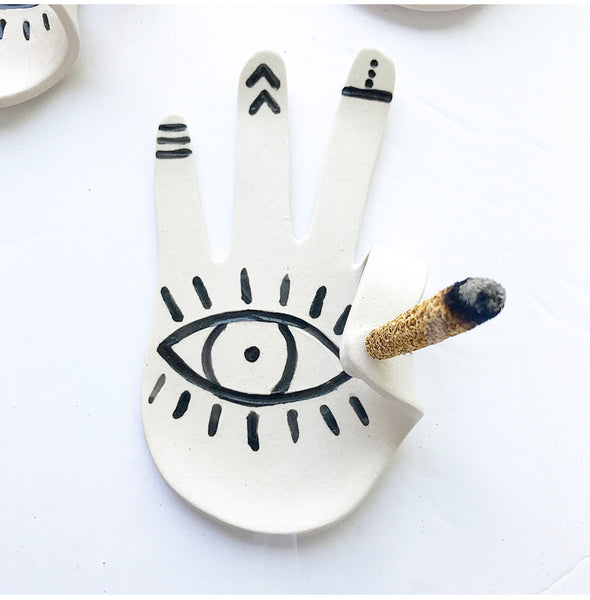 Hamsa Hand Incense Dish/incense burner