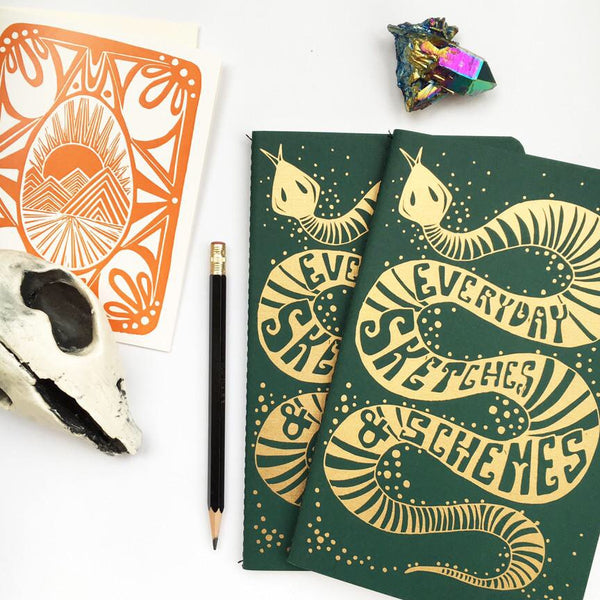 Native Bear Sneaky Snake Notebook