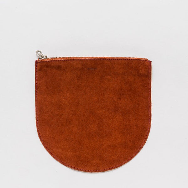 Baggu Leather pouch -rust
