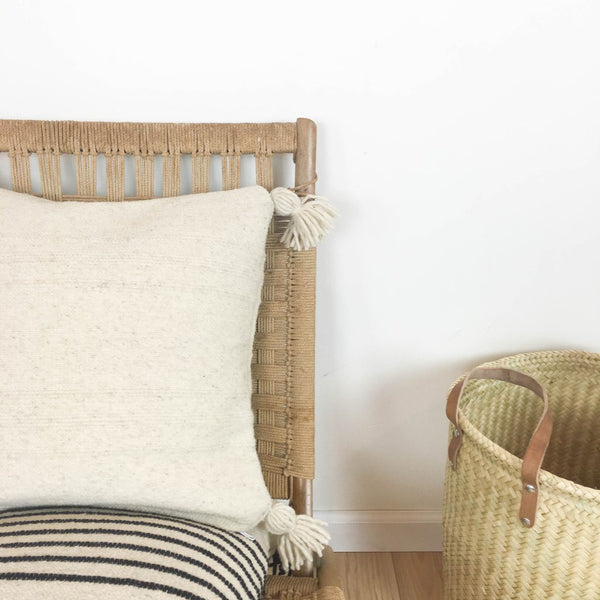 Puro Wool Pillow- Cream