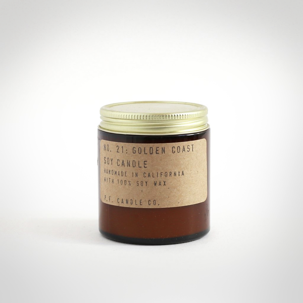 P.F. Candle Co. - Golden Coast Mini Soy Candle 7oz
