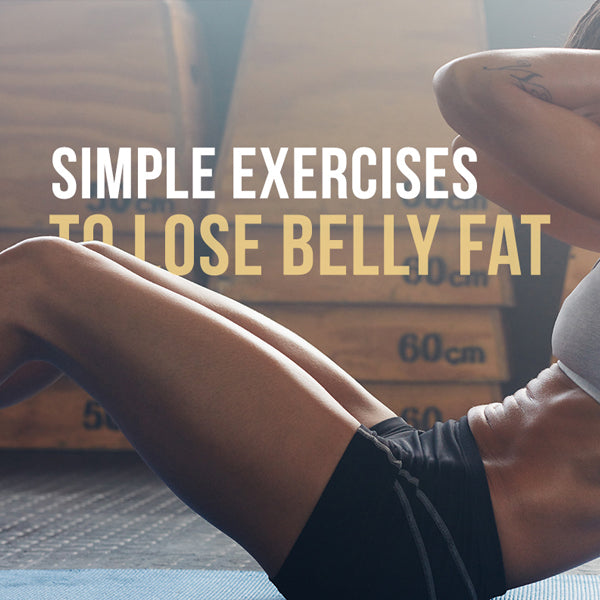 5 Simple No-Fuss Exercises to Reduce Belly Fat