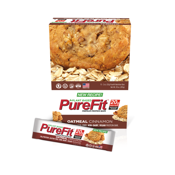 Oatmeal Cinnamon Protein Bar - PureFit Nutrition