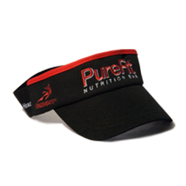 PureFit Nutrition Bars Black Visor
