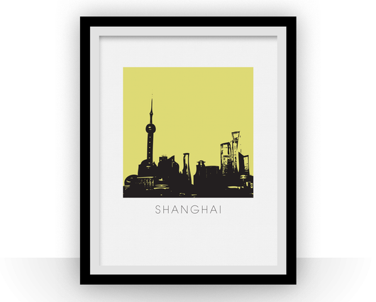 Illustration de Shanghai