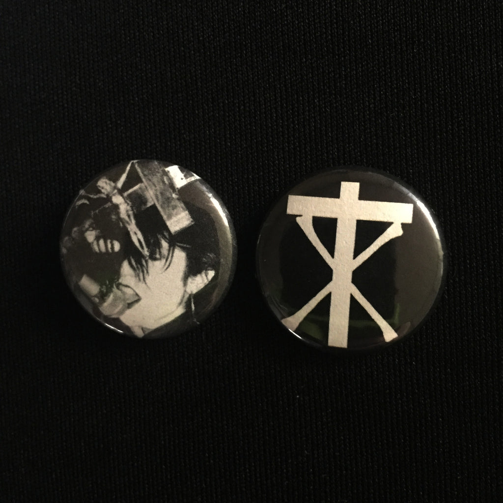 "CHRISTIAN DEATH 1"" buttons"