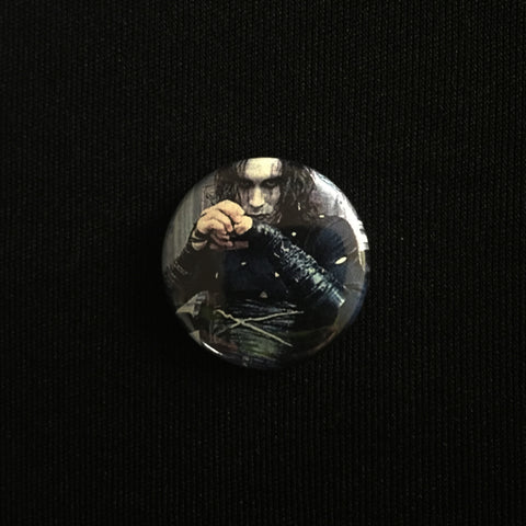 "THE CROW 1"" button"
