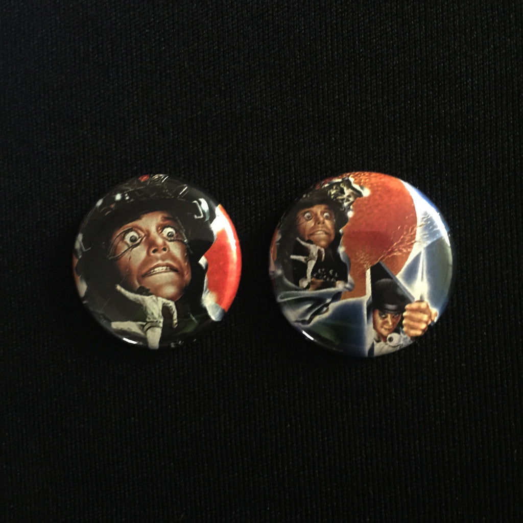 "CLOCKWORK ORANGE 1"" buttons"
