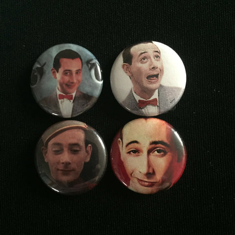"PEEWEE HERMAN 1"" buttons"
