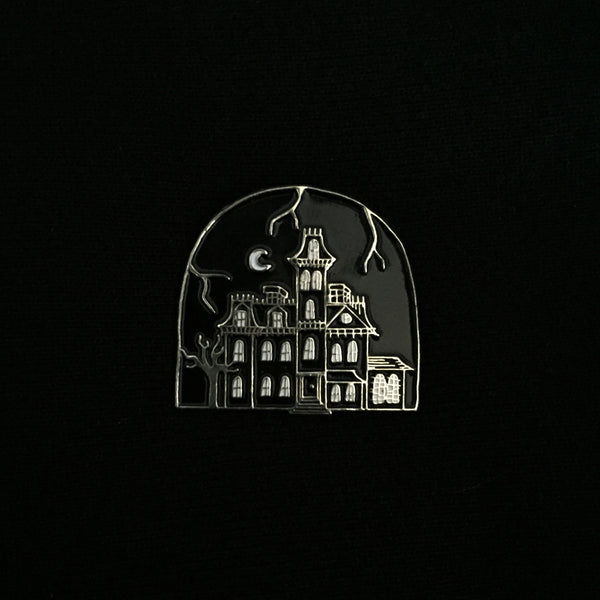 1313 CEMETERY LANE soft enamel pin