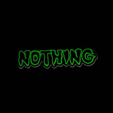 NOTHING sticker