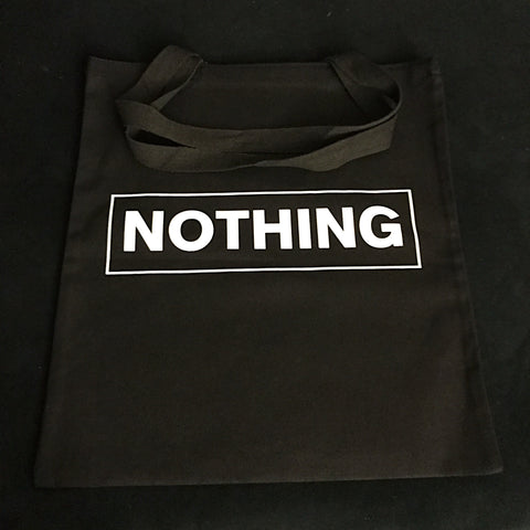 NOTHING tote bag