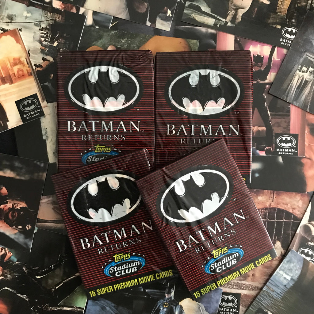 BATMAN RETURNS vintage Topps trading cards