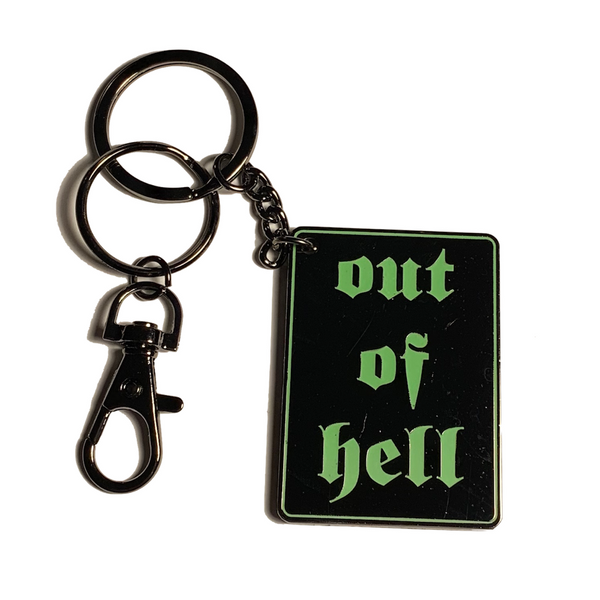 LONG HARD ROAD hard enamel keychain