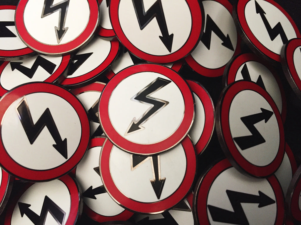 ANTICHRIST SUPERSTAR hard enamel pin