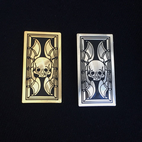 THE SKULL hard enamel pin