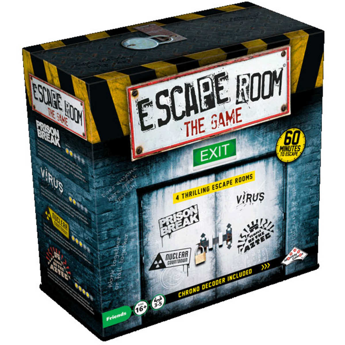 Escape Room The Game-Board game-Multizone: Comics And Games | Multizone: Comics And Games