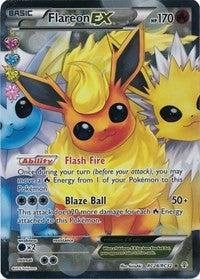 Flareon EX (Full Art) [Generations: Radiant Collection] | Multizone: Comics And Games