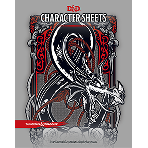 D&D 5e: Character Sheets-Dungeons & Dragons-Multizone: Comics And Games | Multizone: Comics And Games