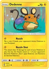 Dedenne (84) [SM - Lost Thunder] | Multizone: Comics And Games