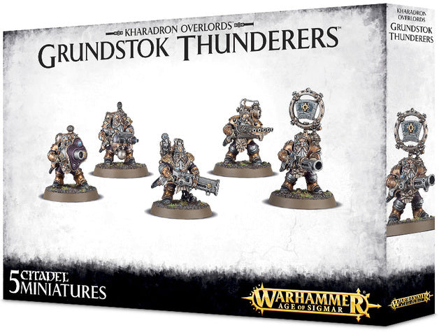 Grundstok Thunderers-Miniatures|Figurines-Multizone: Comics And Games | Multizone: Comics And Games