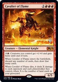 Cavalier of Flame [Core Set 2020 Promos] | Multizone: Comics And Games