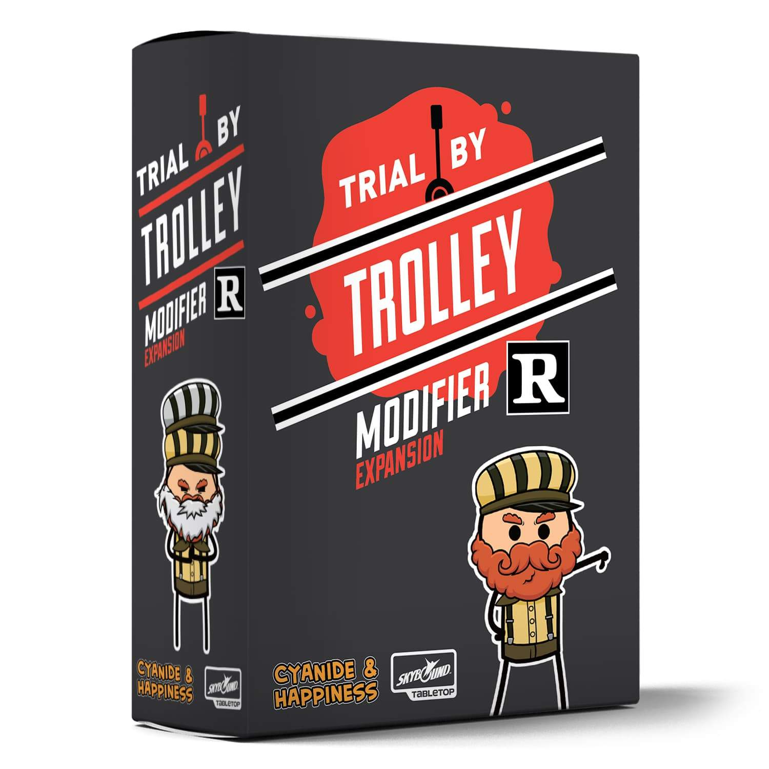 Expansions for Cyanide and Happiness: Trial by Trolley | Multizone: Comics And Games