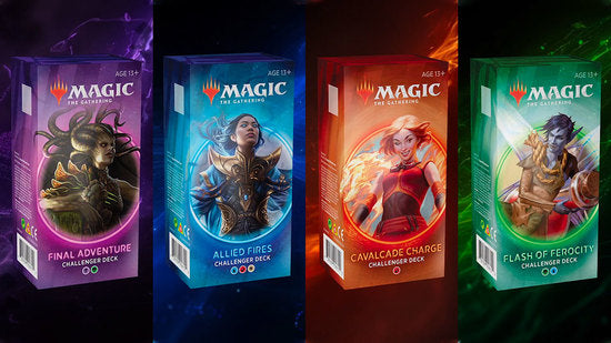 Challenger decks 2020 | Multizone: Comics And Games