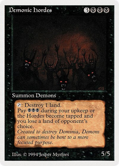 Demonic Hordes [Summer Magic / Edgar] | Multizone: Comics And Games