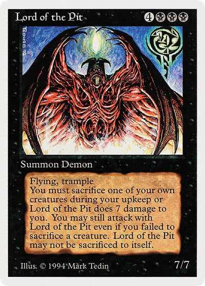 Lord of the Pit [Summer Magic / Edgar] | Multizone: Comics And Games