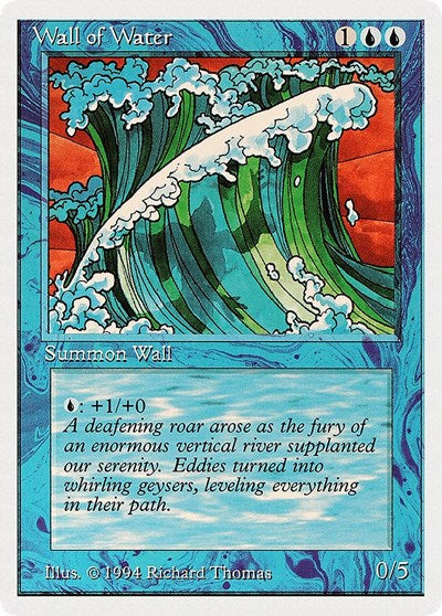 Wall of Water [Summer Magic / Edgar] | Multizone: Comics And Games