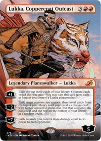 Lukka, Coppercoat Outcast (Borderless) [Ikoria: Lair of Behemoths] | Multizone: Comics And Games