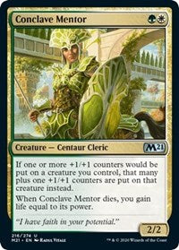 Conclave Mentor [Core Set 2021] | Multizone: Comics And Games
