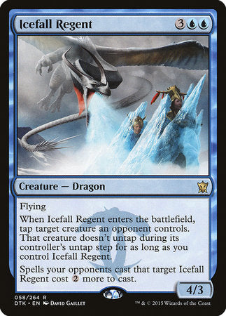 Icefall Regent [Dragons of Tarkir] | Multizone: Comics And Games