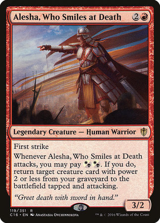 Alesha, Who Smiles at Death [Commander 2016] | Multizone: Comics And Games