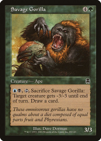 Savage Gorilla [Apocalypse] | Multizone: Comics And Games