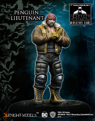 PENGUIN LIEUTENANT-Batman Miniature Game-Multizone: Comics And Games | Multizone: Comics And Games