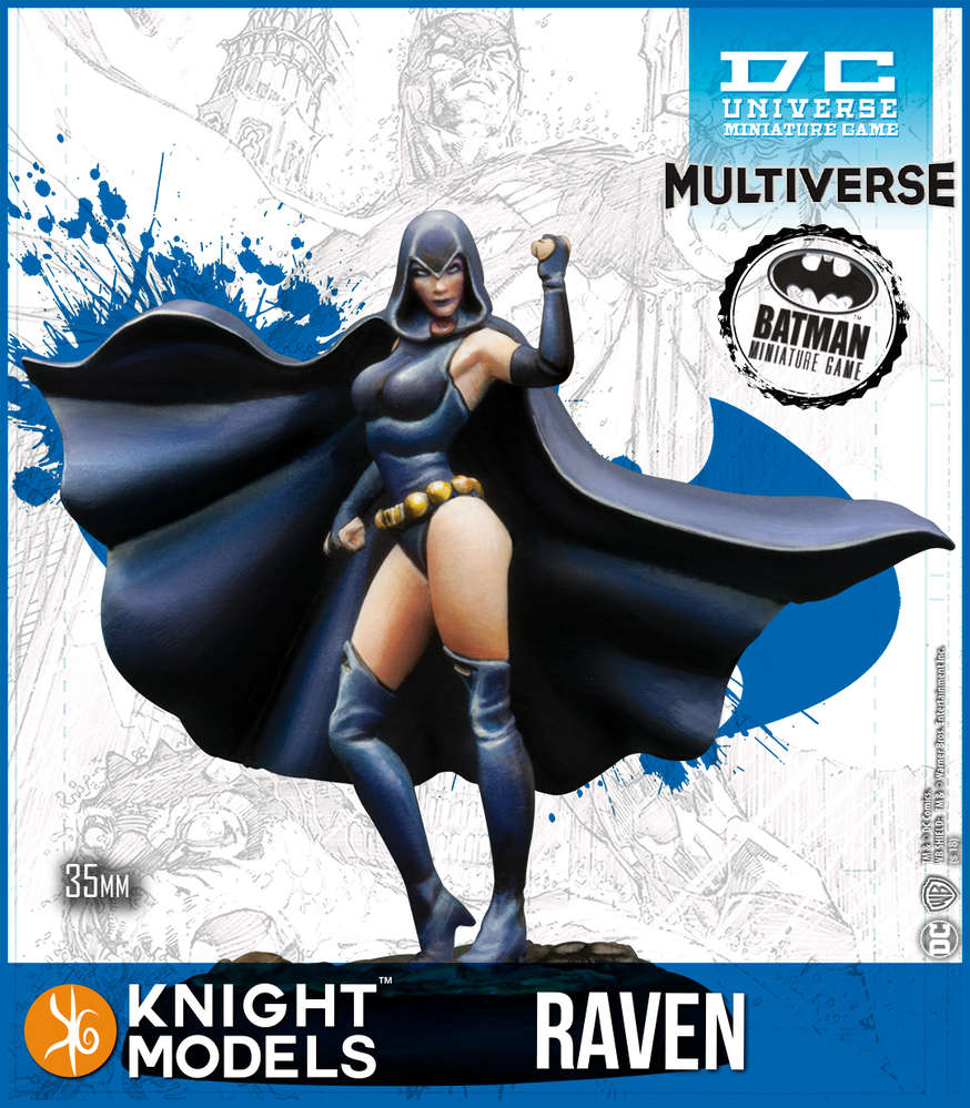 Raven (Resin)-Batman Miniature Game-Multizone: Comics And Games | Multizone: Comics And Games