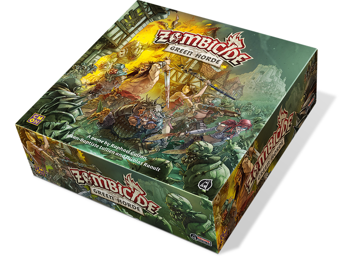 Zombicide: Green Horde-Board game-Multizone: Comics And Games | Multizone: Comics And Games
