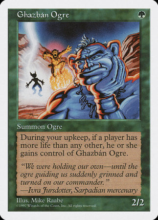 Ghazban Ogre [Fifth Edition] | Multizone: Comics And Games