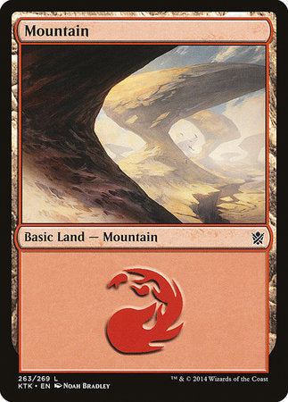 Mountain (263) [Khans of Tarkir] | Multizone: Comics And Games
