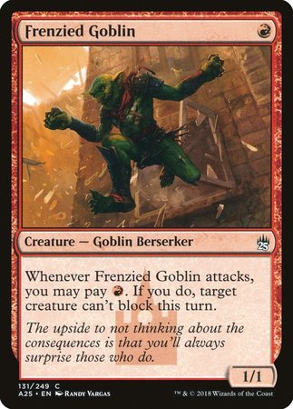 Frenzied Goblin [Masters 25] | Multizone: Comics And Games