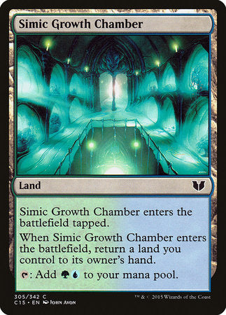 Simic Growth Chamber [Commander 2015] | Multizone: Comics And Games