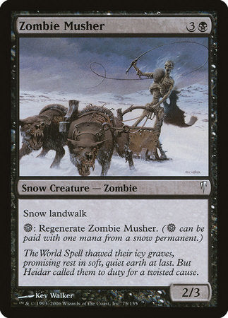 Zombie Musher [Coldsnap] | Multizone: Comics And Games