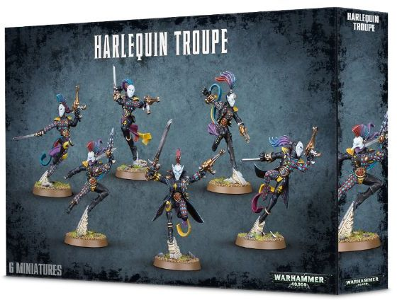 Harlequin Troupe-Miniatures|Figurines-Multizone: Comics And Games | Multizone: Comics And Games